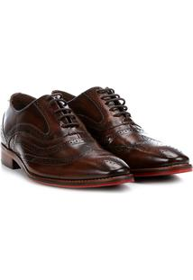 9423eb21ac981 Sapato Casual Couro Ferracini Caravaggio Premium Inglês - Masculino