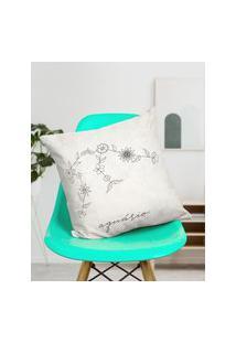 Amaro Feminino Design Up Living Capa De Almofada Signo 42X42, Aquário