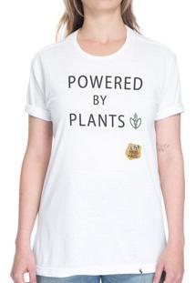 Powered By Plants - Camiseta Basicona Unissex