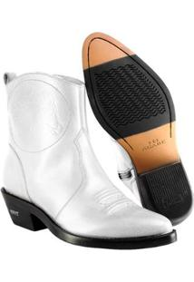 Bota Texana Hb Agabe Boots Lt Masculina - Masculino-Branco