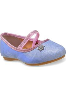 c6c945b91a Sapatilha Fem Infantil Grendene 21487 Frozen Brilhante Lilas Rosa Claro