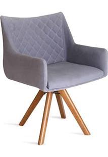 Cadeira Giratória Elis Encosto E Assento Anatômico Design Atemporal E Moderno Casa A Móveis