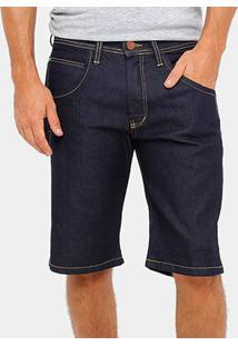 Bermuda Jeans Hd Masculina - Masculino-Azul