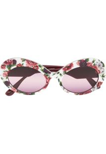 Dolce   Gabbana Eyewear Floral Blooms Print Sunglasses - Rosa 13ee6591e0