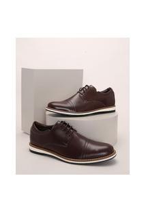 Sapato Social Masculino Oneself Marrom