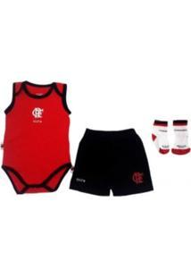 Kit Body Reve D Or Sport Regata C E Meia Flamengo Vermelha E Preta 143079c39cf62
