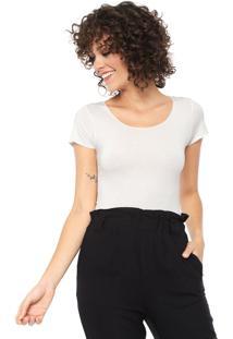 Camiseta Lez A Lez Básica Off-White
