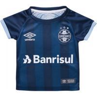 ec6a98dfd Camisa Infantil Umbro Grêmio Oficial Iii 2017