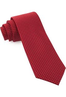 Gravata De Seda Lux Red - Sd57