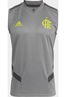 Regata Flamengo Adidas Treino Masculina - Masculino