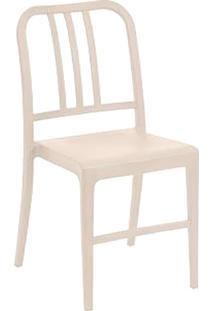 Cadeira Com Pés Fixos Retrô 1138-Or Design - Cinza