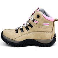 Bota Coturno Magi Shoes Trilha Adventure Creme 820ba3844d