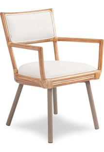 Cadeira Tucson Junco Envelhecido Estrutura Apuí Pés Em Alumínio Eco Friendly Design Scaburi