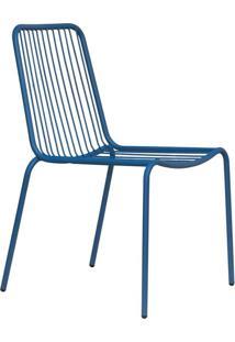 Cadeira De Jardim Grid I Azul