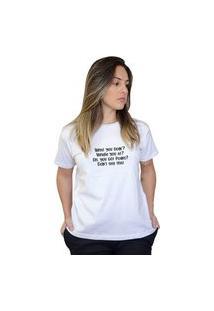 Camiseta Feminina Leave The Door Open Branco
