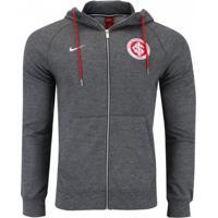 0ec6abbe3d Jaqueta Moletom Nike S.C. Internacional Nsw Hoodie Fz