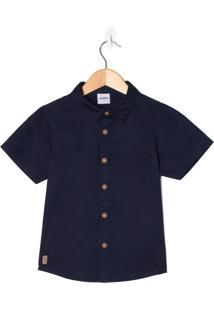 Camisa Infantil Rovitex Marinho - 8