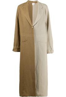 Alysi Trench Coat Bicolor - Neutro