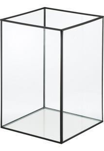 Porta-Vela Cubic Ll Preta