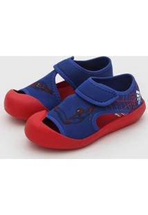 Sandália Adidas Performance Infantil Altaventure C Azul/Vermelho
