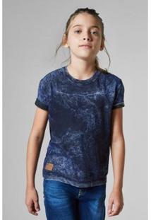 Camiseta Mini Dupla Face Petrolina Reserva Mini Masculina - Masculino-Azul Escuro