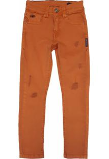 Calça Jeans Mister Boy Caramelo - Kanui