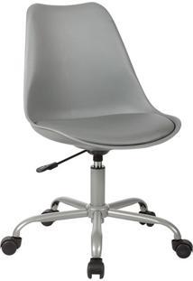Cadeira De Escritório Secretária Luisa Cinza