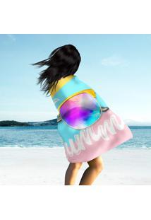 Toalha De Praia / Banho Oh, My Summer