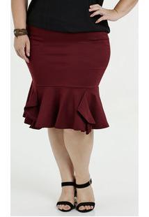 c949788771 Saia E Mini Saia Jacquard Plus Size feminina