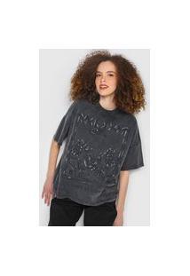 Camiseta Colcci Mirror Grafite