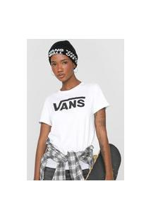 Camiseta Vans Flying Crew Branca
