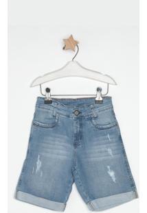 Bermuda Jeans Express Oscar Azul