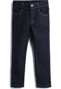 Calça Jeans Hering Kids Infantil Lisa Azul