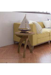 Mesa De Canto Jade Pinho - Artely