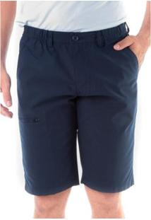 Bermuda Sarja Regular Cos De Elástico Traymon Masculina - Masculino