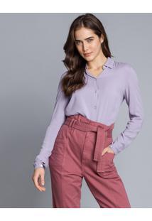 Camisa Manga Longa Clássica Lilas Europa - Lez A Lez