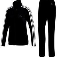9ceca898d07 Agasalho Adidas Back 2 Basics 3 Stripes Feminino
