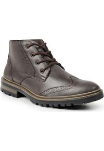 Bota Dress Boot Sandro & Co. Masculina - Masculino-Cafe