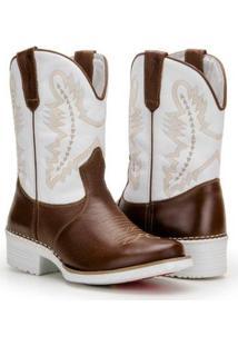 Bota Texana Country Capelli Palmilha Gel Confort Masculina - Masculino