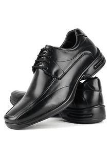 Sapato Social Confort Masculino Com Cadarço