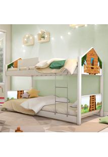 Beliche Prime Casa Juvenil Casa Na ÁRvore Casah - Branco/Multicolorido - Menino - Dafiti