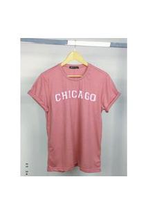 T- Shirt De Algodão Chicago