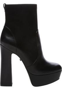 Ankle Boot Meia Pata Bold Black | Schutz