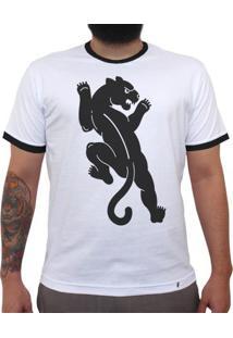 Baguera - Camiseta College Masculina Golas Pretas