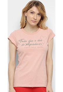 Camiseta Coca-Cola Dia De Agradecer Feminina - Feminino
