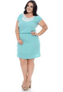 Vestido Guipir Plus Size