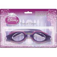 a96848e55 Dinda. Óculos De Natação Roxo E Pink Princesas
