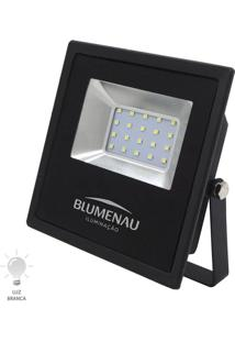 Refletor Led Slim 20W Bivolt Branco Frio 6000K - 74206000 - Blumenau - Blumenau
