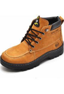 Bota Adventure Em Couro Sb Shoes Caramelo