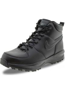 Bota Masculina Manoa Leather Nike - 454350 Preto 38